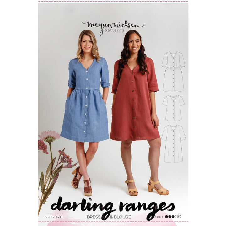 Megan Nielson - Darling Ranges Dress - Sewing Pattern -