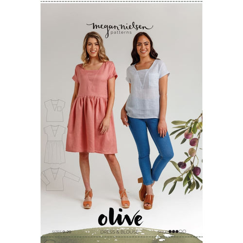 Megan Nielson - Olive Dress and Top - Sewing Pattern -