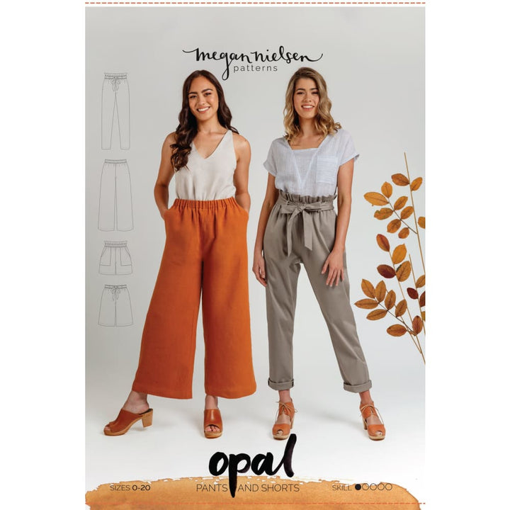 Megan Nielson - Opal Pants and Shorts - Sewing Pattern -