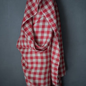 Merchant and Mills - Calamity Red Gingham - European
