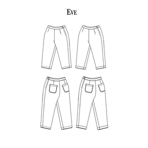 Merchant and Mills - Eve Trouser - Sewing Pattern - pattern