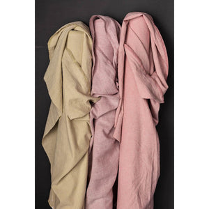 Merchant and Mills Pink Fizz Laundered Linen/Cotton - fabric