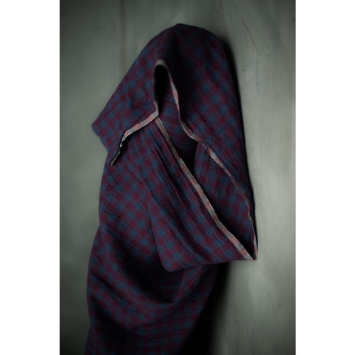 Merchant & Mills Winter Hymn Gingham Laundered Linen