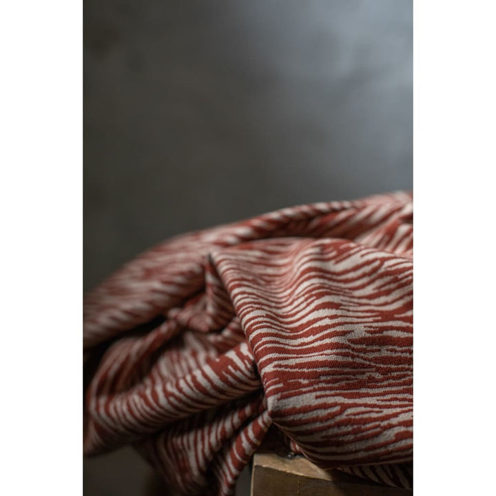 Mind The MAKER - Organic Bark Jacquard - Sienna & Dune -