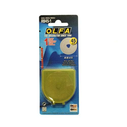 Olfa 45mm Rotary Cutter Replacement Blade - notion