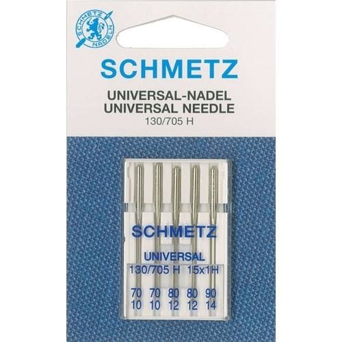 Schmetz Universal Needle - Size 70-90 assorted - pack of 5 -