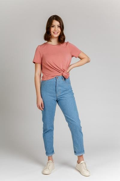 Top indie sewing patterns: Dawn jeans (4 in 1!)