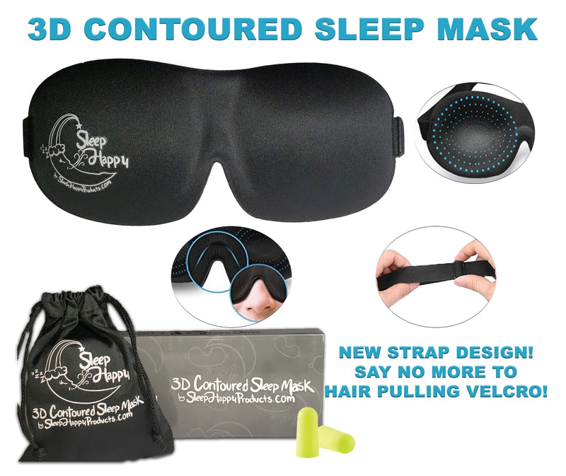 Sleeping Mask 3D Contoured
