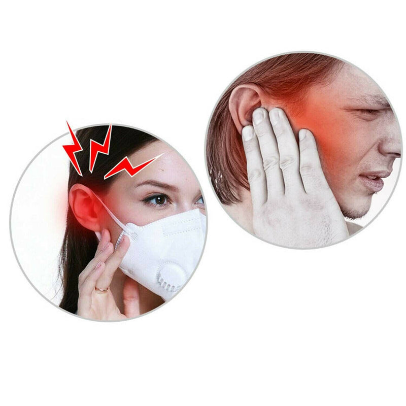 10pcs Face Mask Holder Ear Hook Adjustable Mask Strap Extension - Mask Extender