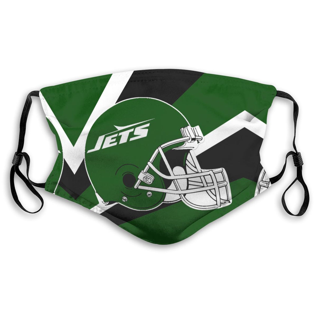 American Football Team New York Jets Face Mask Mouth Mask Fashion design