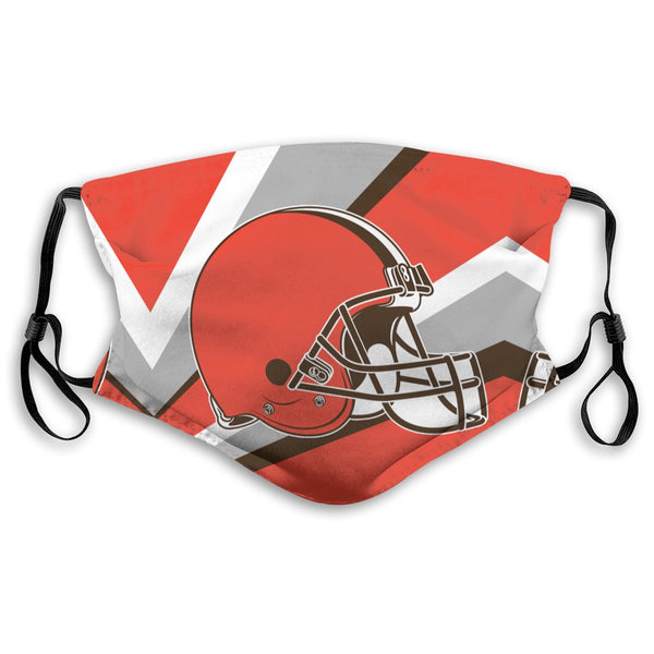 American Football Team Cleveland Browns Face Mask Mouth Mask Fashion design