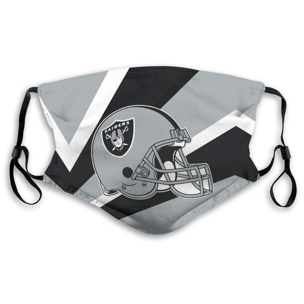 American Football Team Oakland Raiders Face Mask Mouth Mask Fashion design