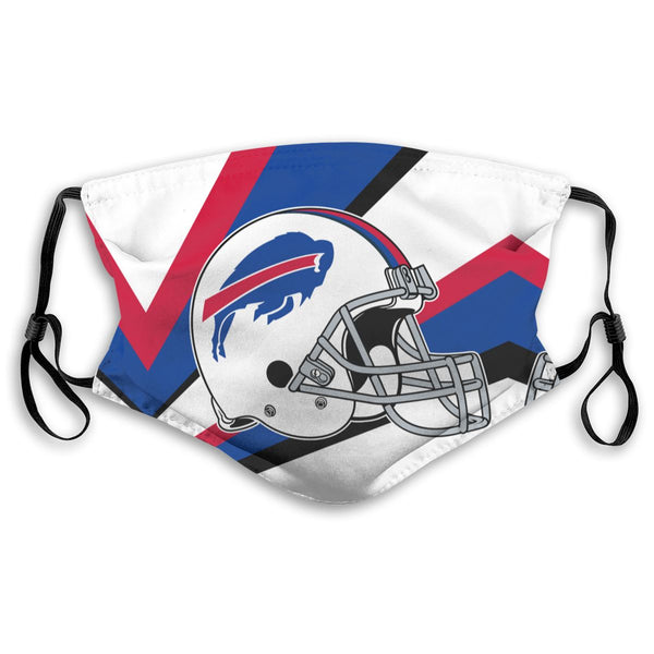 American Football Team Buffalo Bills Face Mask Mouth Mask Fashion design