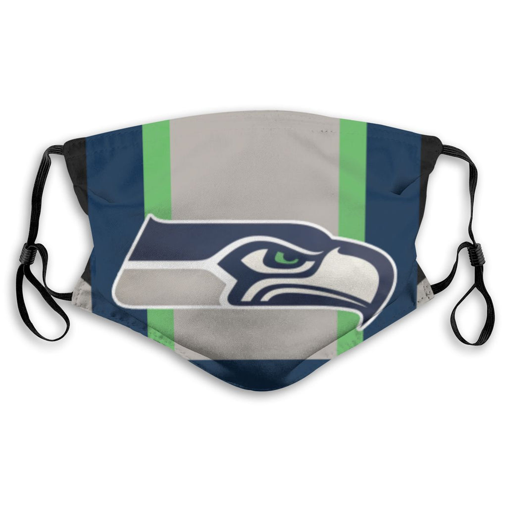 American Football Team Seattle Seahawks Face Mask Mouth Mask Fashion design