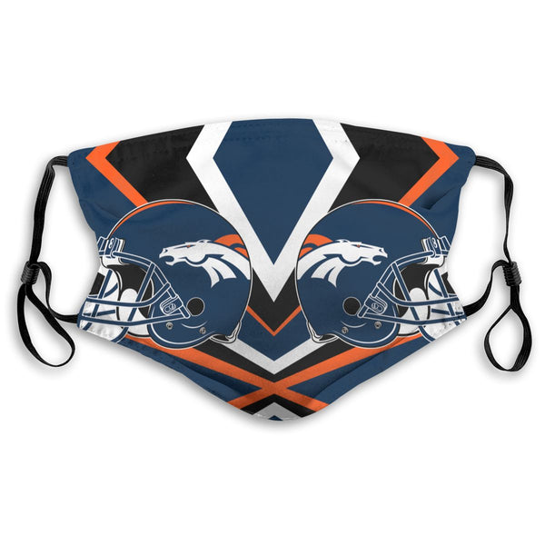 American Football Team Denver Broncos Face Mask Mouth Mask Fashion design