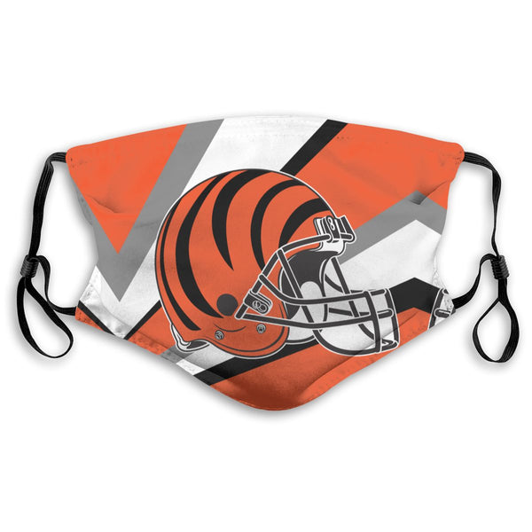 American Football Team Cincinnati Bengals Face Mask Mouth Mask Fashion design