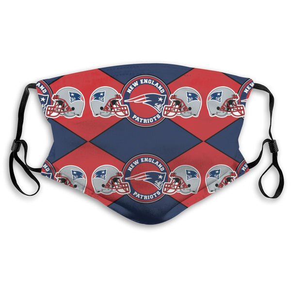 American Football Team New England Patriots Face Mask Mouth Mask Fashion design