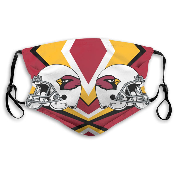 American Football Team Arizona Cardinals Face Mask Mouth Mask Fashion design