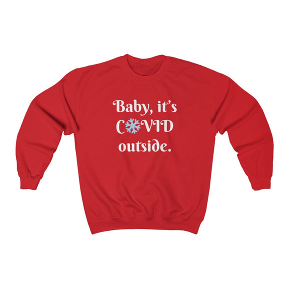 COVID Holiday Sweatshirt