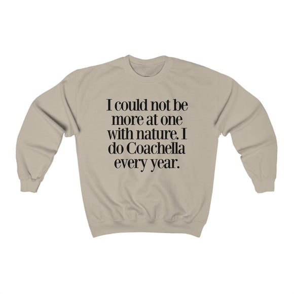 David Rose Coachella Quote Sweatshirt