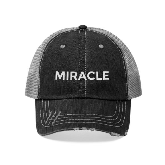 Miracle Hat | Cool Vibe Hat | Trendy Hat | Hip Stylish Hat | Stylin Hat | Cute Trucker Hat - Happy Tee's