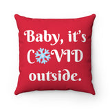 COVID Holiday Pillow