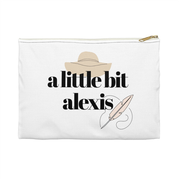 A Little Bit Alexis Makeup and Accessory Pouch | Alexis Claire Rose | David Rose | Schitt's Creek Fan Gift