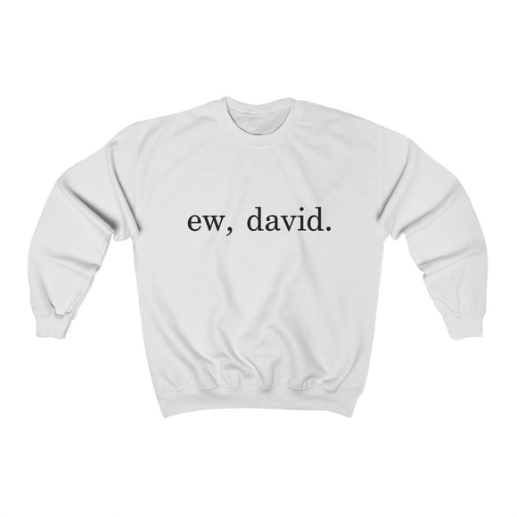 Ew David Crewneck Sweatshirt