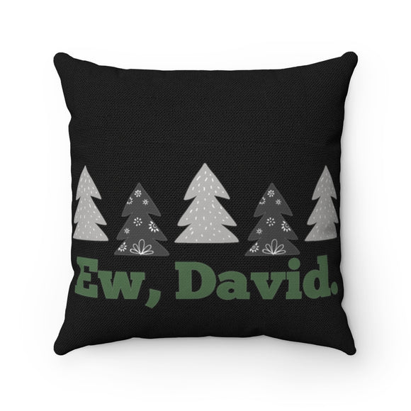 Ew David Holiday Pillow