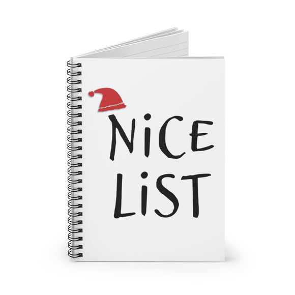 Nice List Notebook