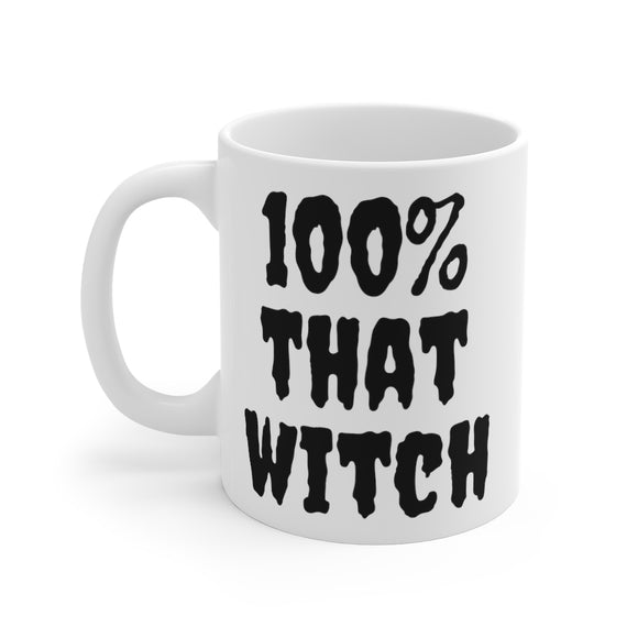 100% That Witch Halloween Mug