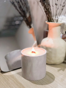 Jesmonite Marble Jar & Soy Candle Workshop