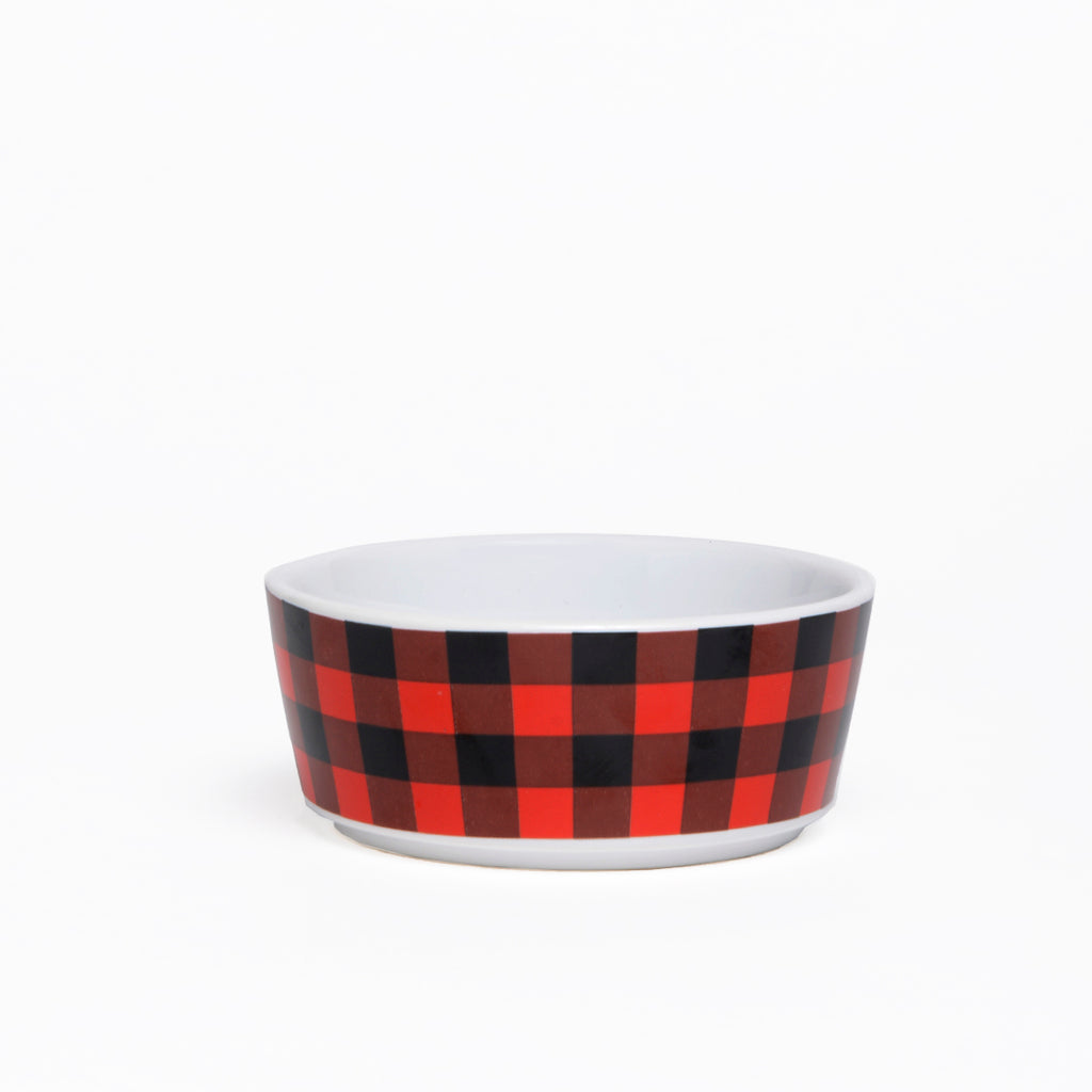BUFFALO PLAID BOWL (MEDIUM)