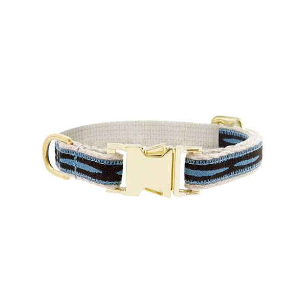 BRAVEHEART LAKE BLUE & BLACK COLLAR