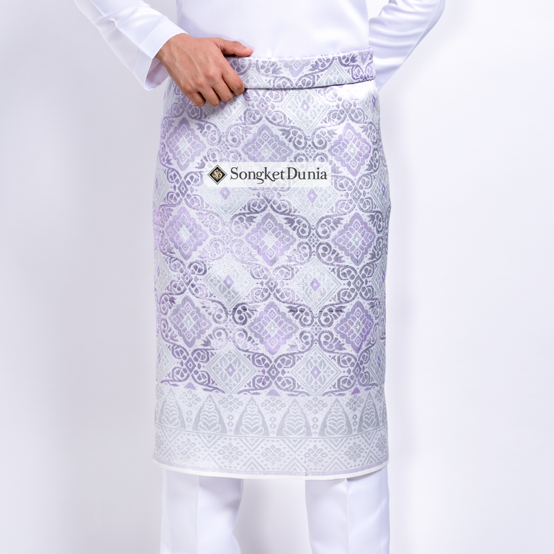 WHITE Silver - Soft Purple | Majestic