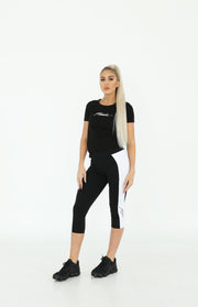 AW19 Womens Tee in Black