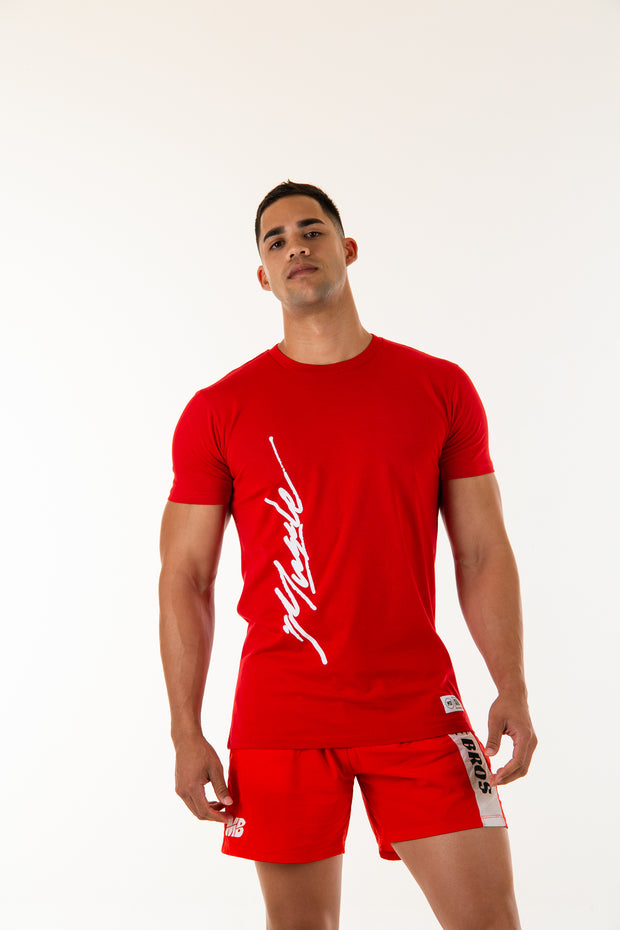 Signature T-Shirt - Red