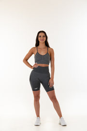 Biker Shorts - Stormy Grey