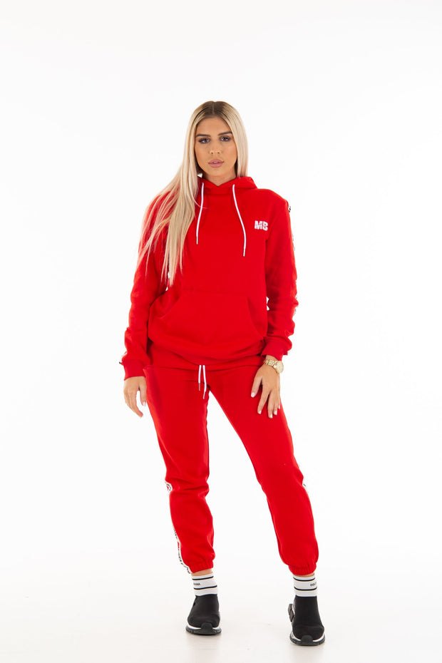 Unisex Red  Trackies