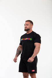 19/20 Spring Colourful Black TSHIRT