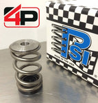 4 Piston Racing PSI Pro Stock Valve Spring and Titanium Retainer Kit