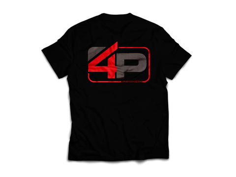 4P Color Logo Shirt RED