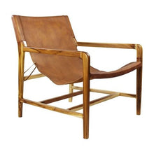 Load image into Gallery viewer, Chair Mossat Antique Leather