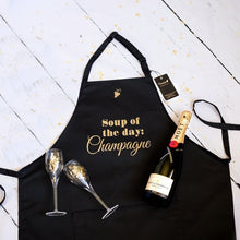 Load image into Gallery viewer, Apron Soup of the day Champagne