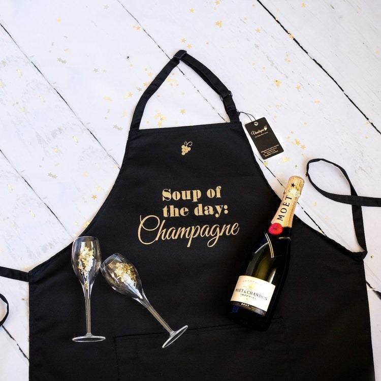 Apron Soup of the day Champagne