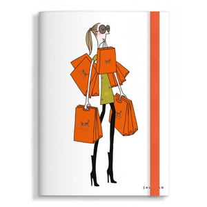 Note book Sac Orange Soledad