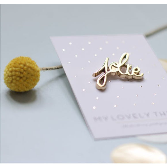 Pin's Jolie My lovely Things
