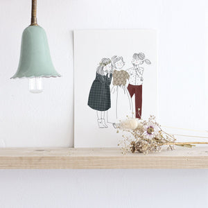 Carte postale Les amies My Lovely Things