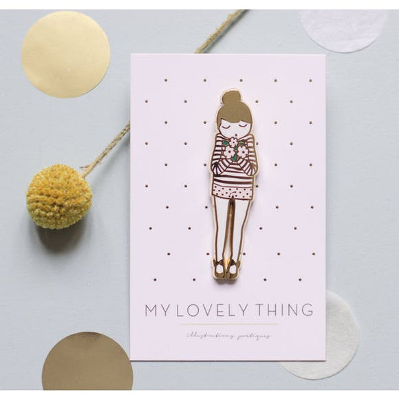 Pin's Poupée My lovely Things
