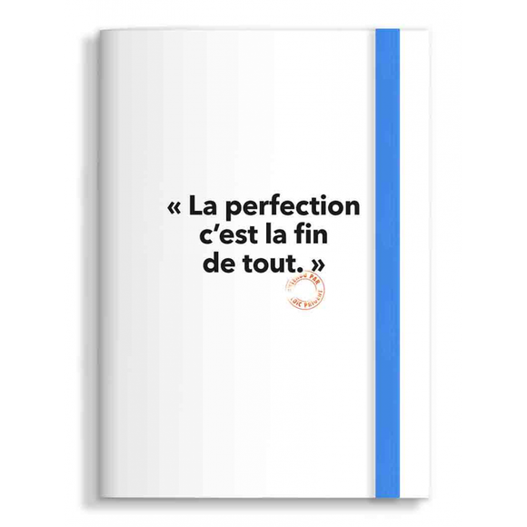 Note book La perfection Loïc Prigent